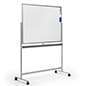 Freestanding rolling whiteboard