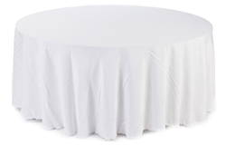 These banquet linens, also known as table covers are commonly used by hotels for weddings and other social events.