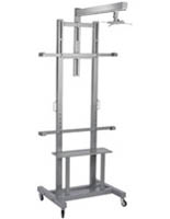 Silver Interactive Whiteboard Stand