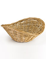 Wicker Baskets with Real or Immitation Fibers
