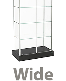 Wide display towers between 28