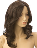 Long Haired Female Brown Wig
