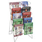 Metal Wire Magazine Holder, Steel Wire