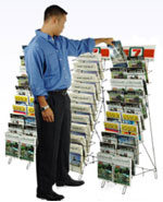 Welded Wire Merchandising Rack