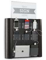 Public Wall Mounted Charging Station for Indoor Use