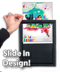 slide in poster frame