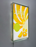 Lightweight Light Box Display for Posters