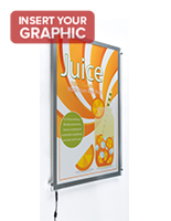 Lightweight Light Box Display for Promotions