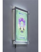 acrylic 11 x 17 led edge lit frame