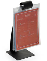 "10.5"" Flip Pocket Menu Stand"
