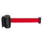 Twist Closure Safety Wall Mounted Retractable Barrier