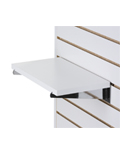 "14"" Slatwall Shelf with Knife Brackets"