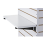 "22.25"" Slatwall Shelf with White Melamine Finish"