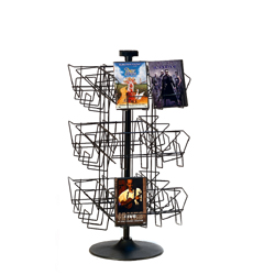 wire dvd rack