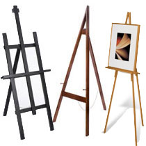 how to make wooden easel stand