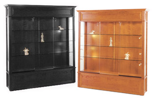 These collectible display cases are the largest cabinets offered here!