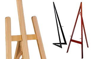 Wooden Art Easels
