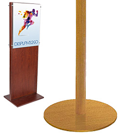 Wooden Poster Stands