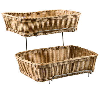 Wicker Trays and Baskets