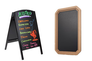 Wet Erase Menu Boards