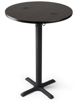 "30"" wireless charging cocktail table for hotels"