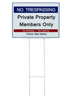 Real Estate Sign Holder