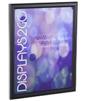 8 x 10 Black Snap Frame for Removable Graphics