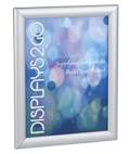 8.5 x 11 Silver Snap Sign Frame - Wall or Tabletop Use