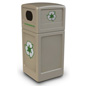 Steel Square Commercial Waste Bin