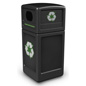 Steel Commercial Recycling Bin