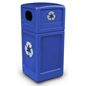 Steel Dome Lid Recycling Bin