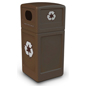 Steel Outdoor Recycling Bin