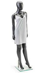 Full Body Silver Female Mannequin
