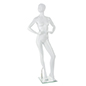 Abstract Female Fiberglass Mannequin with Sturdy but Lightweight Construction