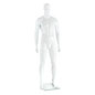 Muscular Male Mannequin with Separated Toes