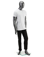 Full Body Gray Male Mannequin