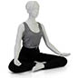 Propped Sitting Yoga Mannequin