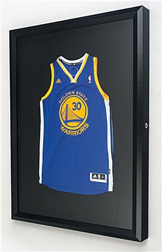 Jersey Shadow Box Locks To Protect Valuable Sports Keepsakes