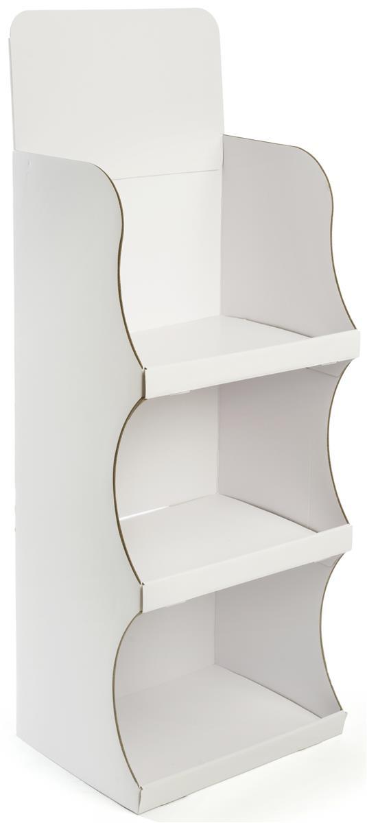 Corrugated Floor Display Floorstanding With Detachable