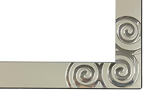 Decorative Picture Frame with Swirls
