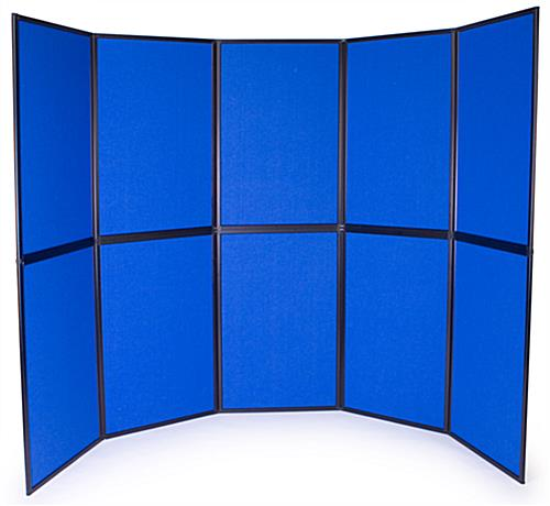 Portable Trade Show Flooring : Portable exhibit booths folding display board panels