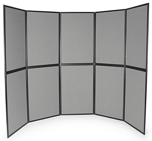 Panel Display with 10 Sections