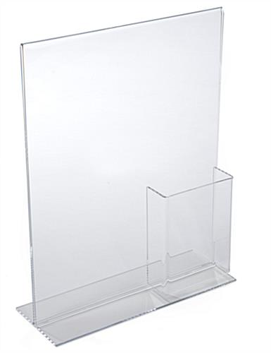 Sign Frame & Brochure Display Clear