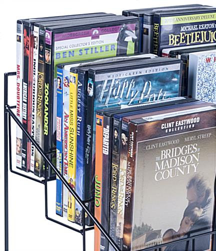 Countertop DVD Display, Holds 5 Movies per Pocket