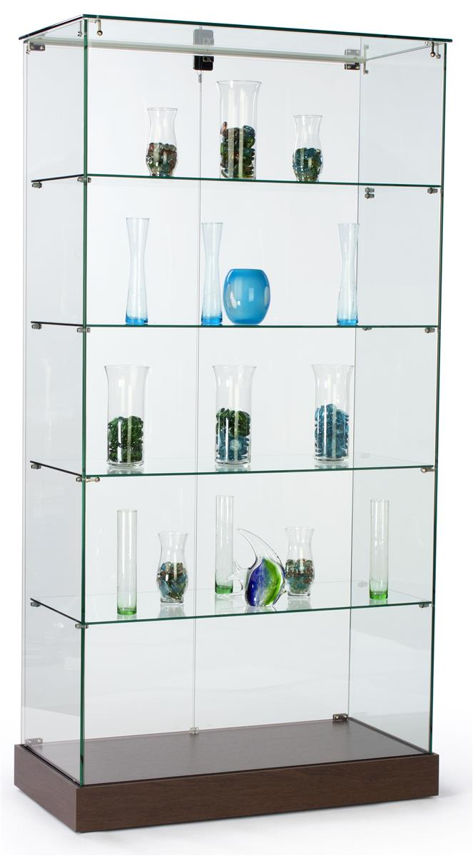 These Display Cabinets Are Frameless
