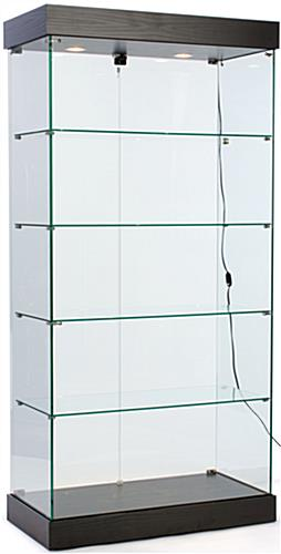 Frameless Retail Cabinet Measuring Over 6' High - Ships Unassembled