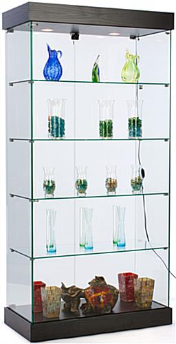 Frameless Retail Cabinet Ships Unassembled For Lower Pricing