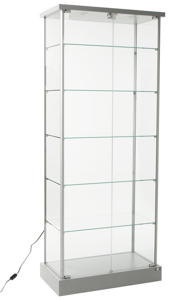 Adjustable Shelves & Recessed Lighting