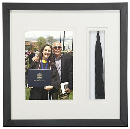 "5"" x 7"" Graduation Photo and Tassel Frame with Tassel Holder"