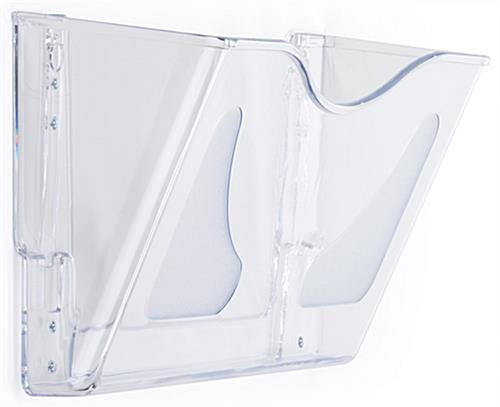 Wall-Mounted Clear Acrylic Wall File Folder